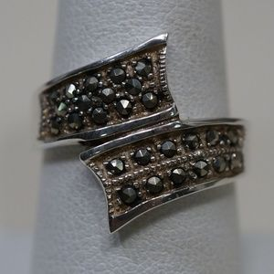Sterling Silver (.925) Genuine Marcasite Ring